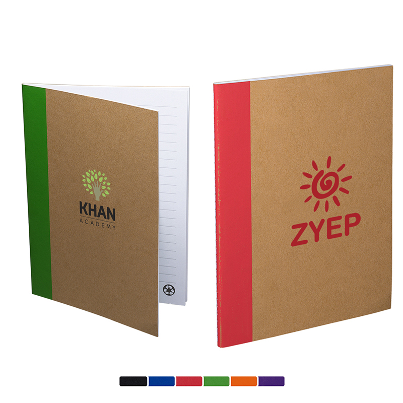 Color-Pop Recycled Notebook